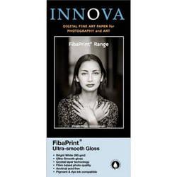 "Innova FibaPrint Ultra-Smooth Glossy Inkjet Photo Paper 44"" x 49.2' Roll"