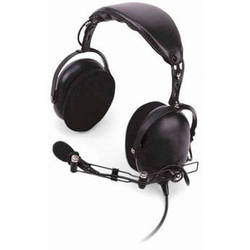 Kenwood KHS-10-0H HD Noise-Reduction Headset Microphone with PTT (Black)