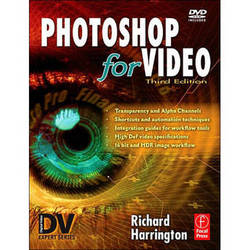 Focal Press Book/DVD: Photoshop for Video, Third Edition