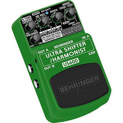 Behringer ULTRA SHIFTER/HARMONIST US600 Ultimate Pitch Shifter & Harmony Effects Pedal