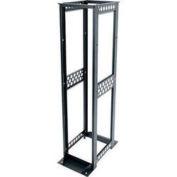 "Middle Atlantic R412-5124B R4 Series 24"" Deep 51U Four-Post Open-Frame Rack"