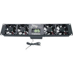 Middle Atlantic UQFP-4D Ultra Quiet Four-Fan Panel with Display