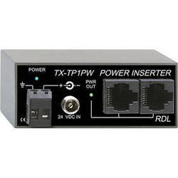 RDL TX-TP1PW 1 Output Power Inserter for Twisted Pair Units