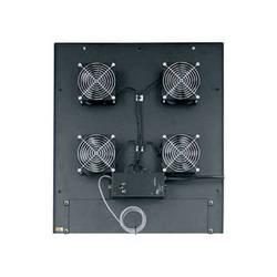 "Middle Atlantic MW-4QFT-FC 200 CFM Integrated Fan Top (4) 4-1/2"" Fans Controller"