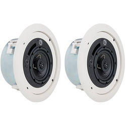 Atlas Sound FAP42TC Coaxial Ceiling Speakers (Pair)