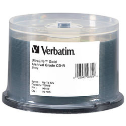 Verbatim CD-R 700MB Gold Archival Disc