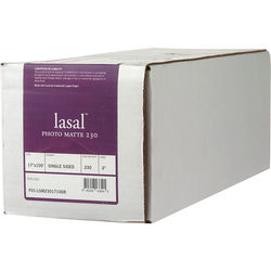 "Moab Lasal Photo Matte Paper (230 gsm) - 17"" Wide Roll - 100' Long"