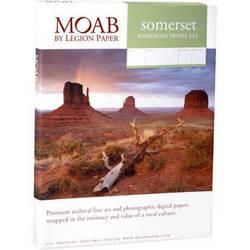 """Moab Somerset Enhanced Velvet 225 Archival Photo Inkjet Paper (4.0 x 6.0"""", 25 Sheets)"""