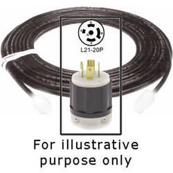 Strand Lighting Cable with L21-20P Plug -12'