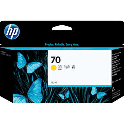 HP 70 Yellow Ink Cartridge (130 ml)