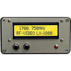 RF-Video LX-1800 1600-1800 MHz  Video and Audio Transmitter