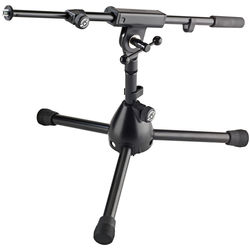 K&M 25950 Low Level Microphone Stand (Black)