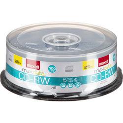 Maxell CD-RW 700MB Disc (25)