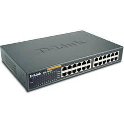 D-Link 24-Port 10/100 Mbps Ethernet Rackmount Switch