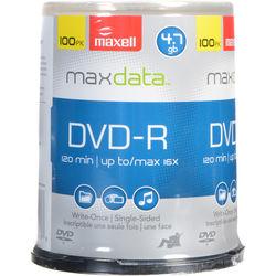 Maxell DVD-R 16x Disc (100)