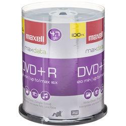 Maxell DVD+R 4.7GB, 16x Disc (100)