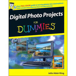 Wiley Publications Book/DVD: Digital Photo Projects For Dummies