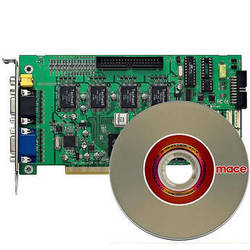 Mace DVR60004  4-Channel PCI DVR Capture Card with Software (30 FPS)