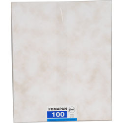 "Foma Fomapan Classic 100 8 x 10"" Black and White Negative Film (50 Sheets)"