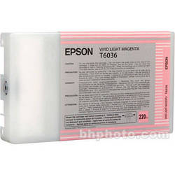 Epson UltraChrome K3 Vivid Light Magenta Ink Cartridge (220 ml)