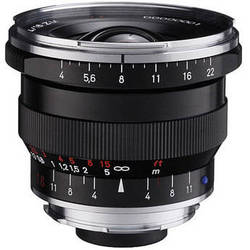 Zeiss Super Wide Angle 18mm f/4 Distagon T* ZM Manual Focus Lens - Black