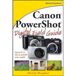 Wiley Publications Book: Canon PowerShot Digital Field Guide by Michael Guncheon