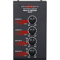Galaxy Audio JIB/MM Jacks in the Box Multi Mixer