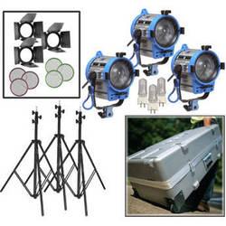 ARRI 650W Fresnel Compact 3-Light Kit (220V)