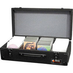 Odyssey Innovative Designs CCD300E Carpeted CD Case (Black)