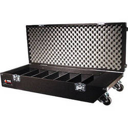 Odyssey Innovative Designs CCD320PW Pro Carpeted CD Case with Wheels (Black)