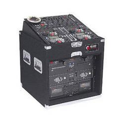 Odyssey Innovative Designs CXP1106 Carpeted Console Rack Case {Black}
