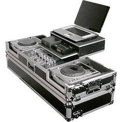 Odyssey Innovative Designs FZGS19CDJW Flight Zone Glide Style Laptop DJ CD Mixer Coffin with Wheels