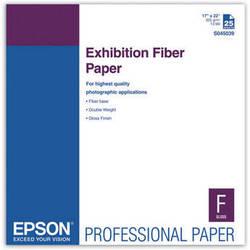 """Epson Exhibition Fiber Paper (17 x 22"""", 25 Sheets)"""