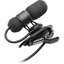 DPA Microphones d:screet mini 4080 Miniature Cardioid Lavalier Microphone with a Microdot Termination (Black)
