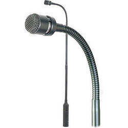 "Astatic AS915 Cardioid Condenser Gooseneck Microphone with Rigid Base and Flexible Top (15"")"