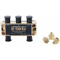 Monster Cable 4-WAY 2-GHz RF SPLITTER