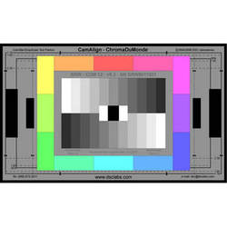 DSC Labs ChromaDuMonde 12 Senior CamAlign Chip Chart