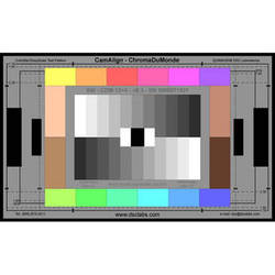 DSC Labs ChromaDuMonde 12+4 Standard CamAlign Chip Chart with Resolution
