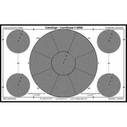 DSC Labs CamSharp Senior Resolution Test Chart
