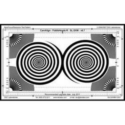 DSC Labs Fiddlehead / BackFocus Super Maxi Focus Pattern & Resolution Chart