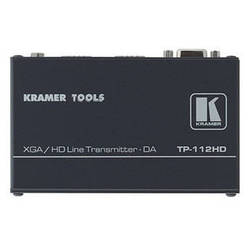 Kramer TP-112HD 1:2 Computer Graphics Video & HDTV over Twisted Pair Transmitter