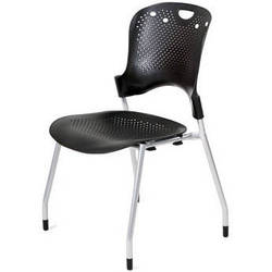 Balt Circulation Stack Chair (Black) (4/Carton)