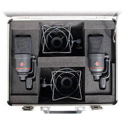 Neumann TLM 170 R Multi-Pattern Large-Diaphragm Studio Condenser Microphone (Stereo Set,<sp> </sp>Nickel)