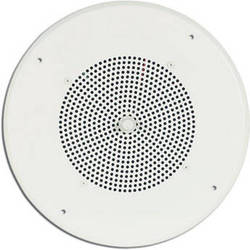 """Bogen Communications Ceiling Speaker Assembly with S86 8"""" Cone , Volume Knob & Screw Terminal Bridge (Off White)"""