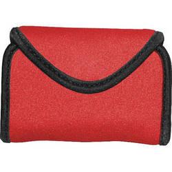 OP/TECH USA Snappeez Soft Pouch, Medium Horizontal (Red)