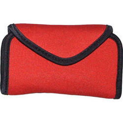 OP/TECH USA Snappeez Soft Pouch, Large Horizontal (Red)