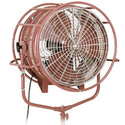 "Mole-Richardson Windmachine Fan with DMX Control - 24"" (120-240VAC,DC)"