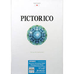 "Pictorico Premium OHP Transparency Film for Inkjet (13 x 19"", Glossy - 20 Sheets)"
