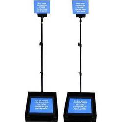 """Mirror Image SP-190MP Speech Series Prompter with Dual 19"""" LCDs"""