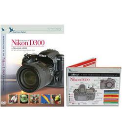 Blue Crane Digital DVD and Guide: Combo Pack for the Nikon D300 Digital SLR Camera